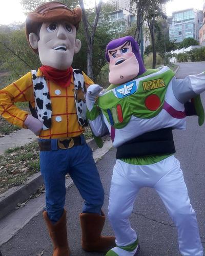 toy story muñecotes show alquiler fiestas tiendas buzz woody