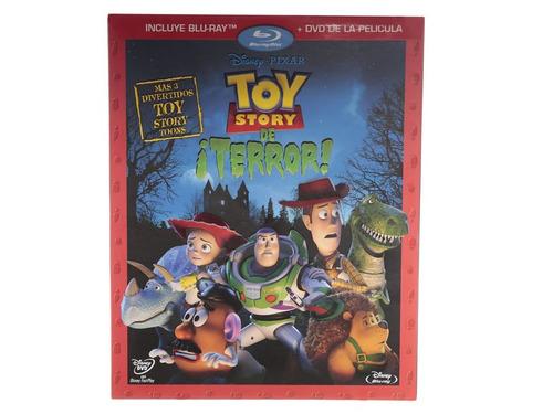 toy story of terror pelicula en blu-ray + dvd