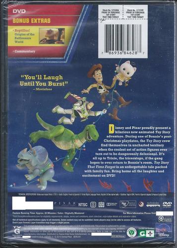 toy story perdidos en el tiempo hablada en español dvd imp.