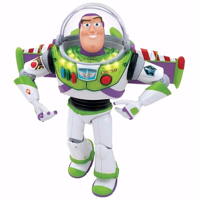 Toy Story Réplica Xerife Woody Com Fala + Buzz Lightyear - R  529 22954bf27db