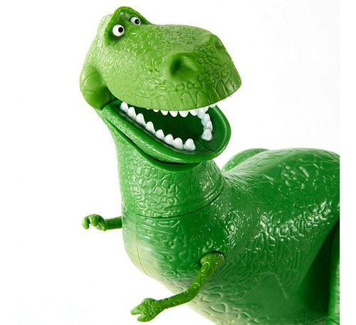 toy story - rex figura articulada - tienda oficial disney