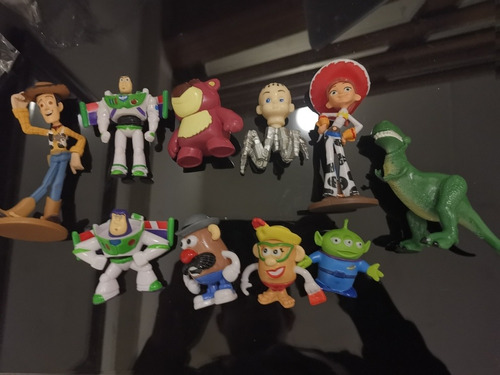 toy story set 10 figuras