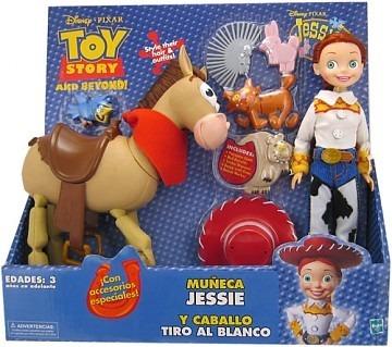 Toy Story Vaquera Jessie Y Caballo Tiro Al Blanco Bullseye ... ad5880b693d