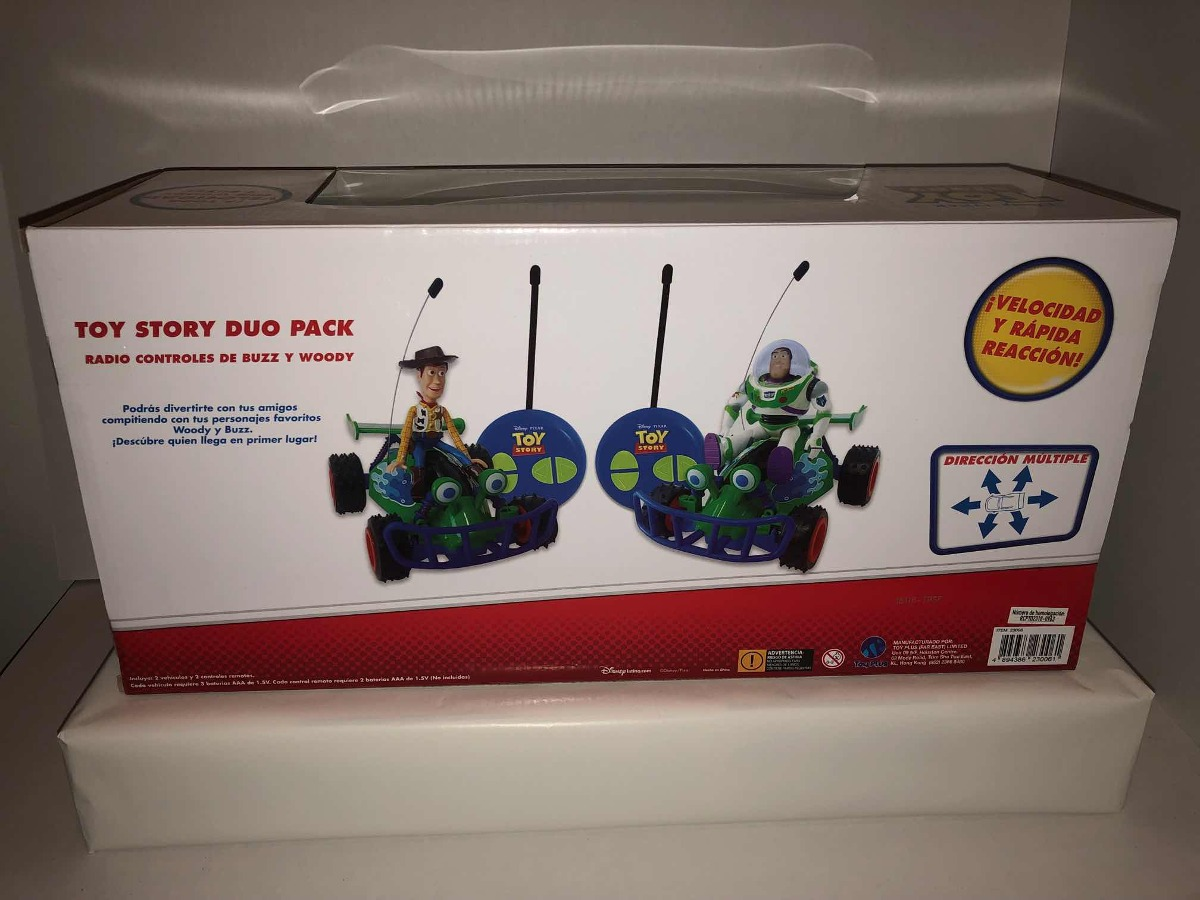 deecdec06a879 Toy story vehículos de radio control buzz lightyear woody cargando zoom jpg  1200x900 Woody story duo
