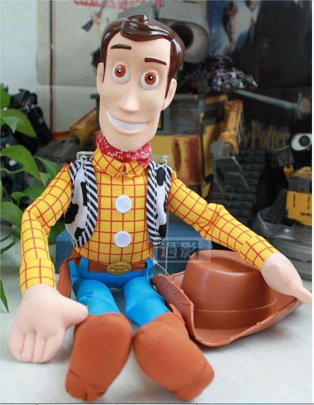 Toy Story Woody Boneco Xerife  42cm  Perfeito    promoção    - R  94 ... b7cd3aa65fd