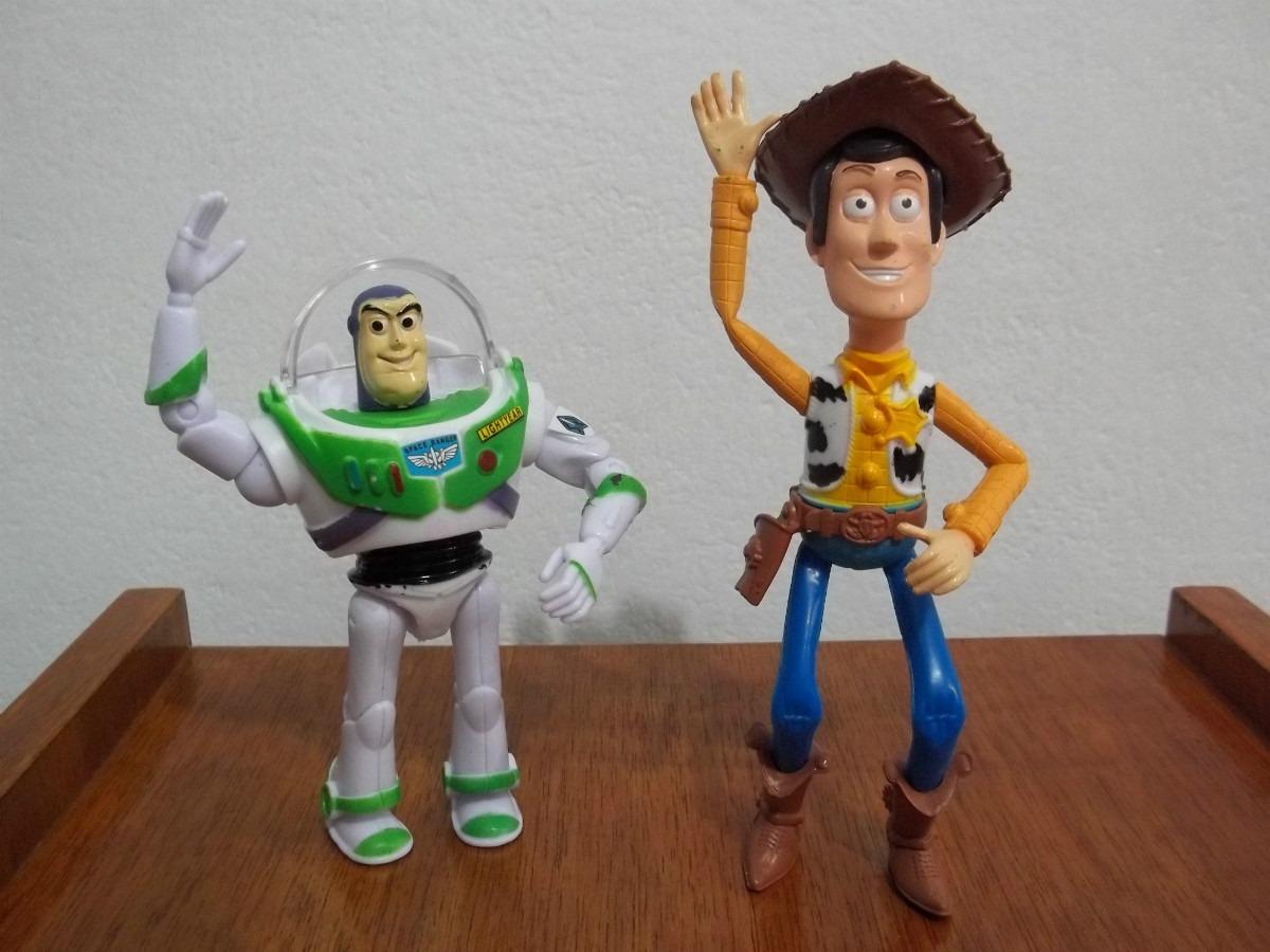 dcb1504a57852 toy story woody + buzz set muñecos grandes excelente. Cargando zoom.