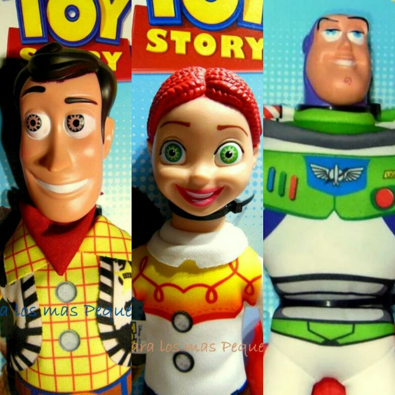 d267e6e1fd42f Toy Story - Woody Buzz Y Jessie - Muñecos De Tela - New Toys ...