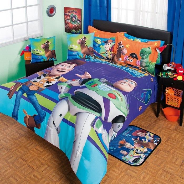 Toy Story Woody Edredon Colcha Ninos 6pc Buzz Funda Individ