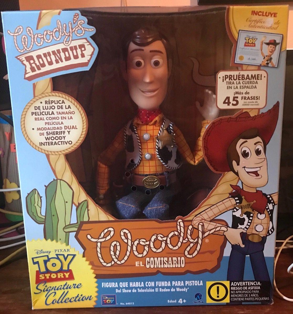 35050989021e5 toy story woody el comisario original certificado sonidos. Cargando zoom.