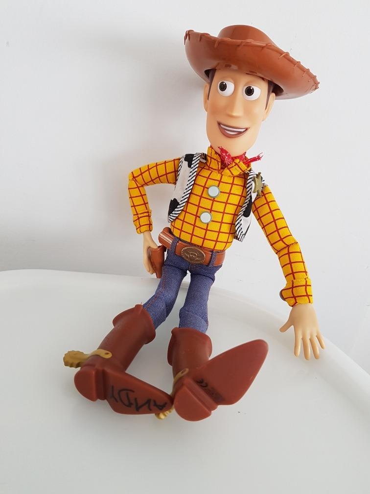 toy story - woody muñeco original disney store usa. Cargando zoom. 651cc99e6b7