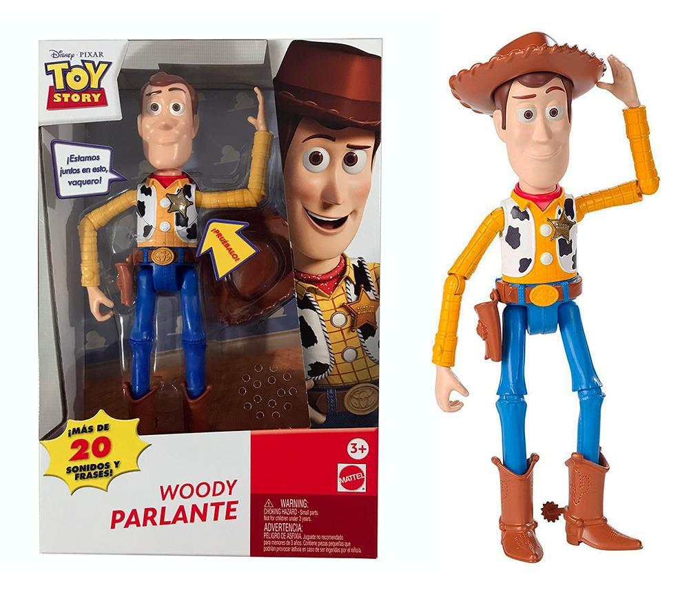 Toy story woody parlante articulado disney pixar mattel cargando zoom jpg  1000x860 Mattel toy story woody d79e7242987