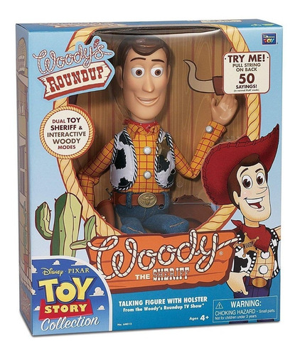 toy story woody sheriff español original signature co cert.
