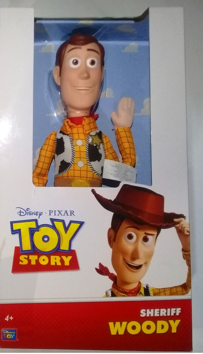 c516b3d96f33c Toy Story Woody Suave Thinkway Toys Tamaño Real Con Sombrero ...