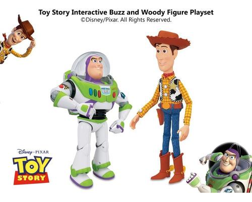 toy story woody vaquero buzz lightyear amigos interactivo