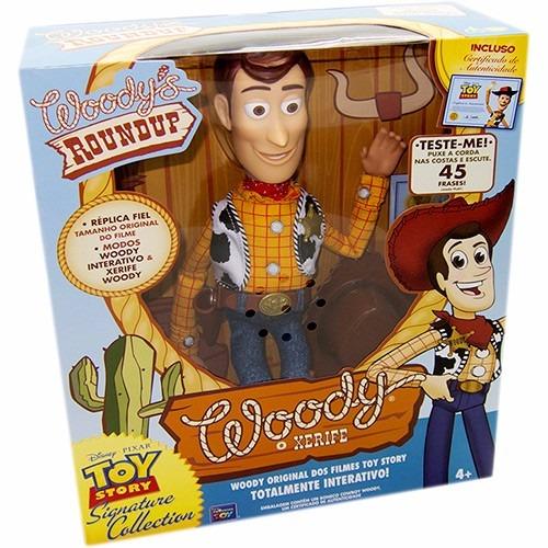 Toy Story Woody Xerife 45 Frases Fala Português Toyng 64012 - R  339 ... 401657aee93