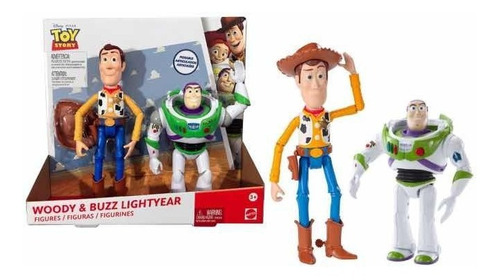 toy story woody y buzz  articulados 20 cms