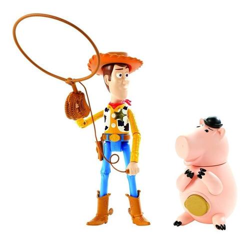 toy story woody y doctor tocino hamm mattel original ftd05