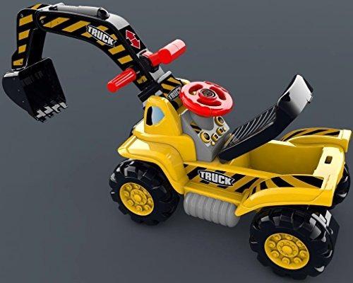 toy tractors for kids rideon excavator  música sonido digge