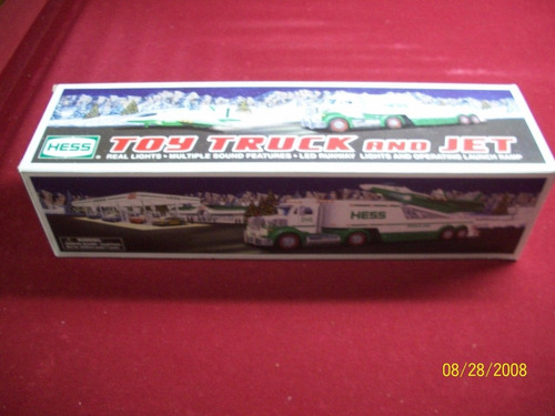 toy truck and jet real lights múltiple sound features new.