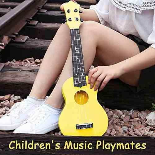 toy ukulele soprano 21 pulgadas hawaiian guitar plastic !