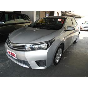 Toyota / Corolla 1.8 Gli Upper 16v Flex 2016 Prata