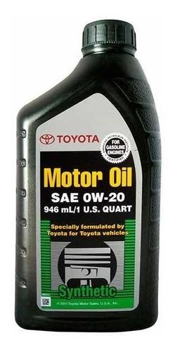 toyota 0w-20 aceite full sintetico 10.000km (unidad)