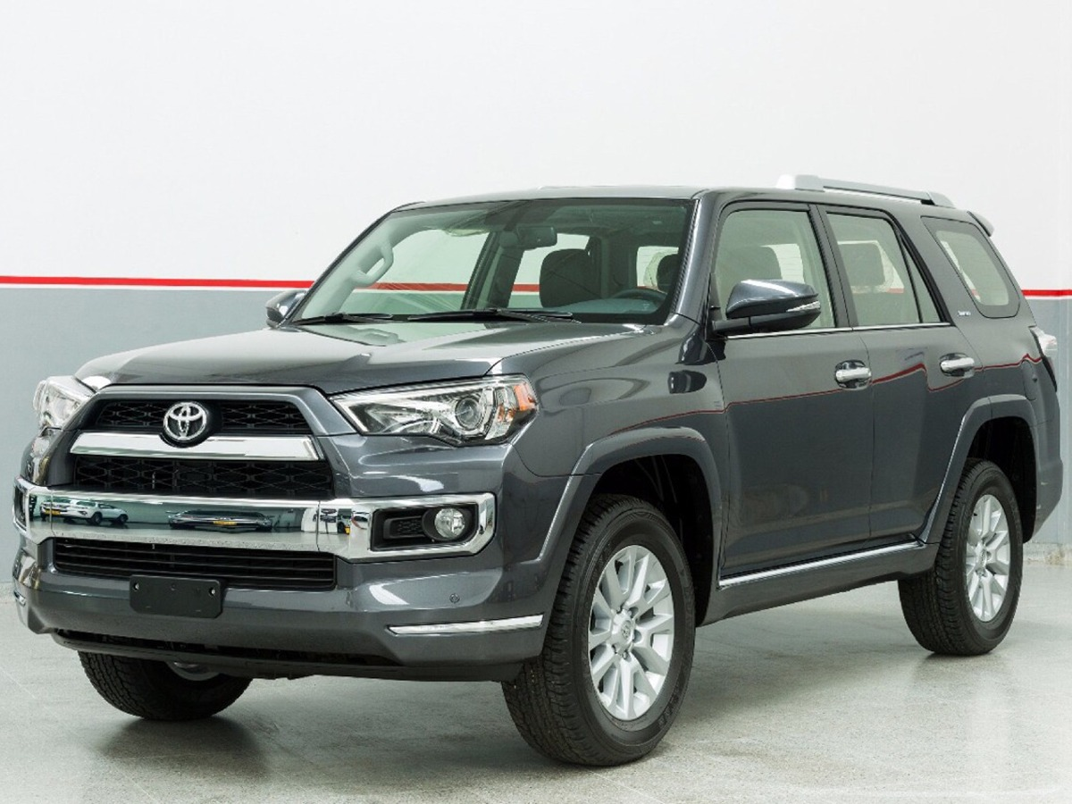 toyota 4runner limited 2018 4 0 4x4 gasolina tript nica en mercado libre. Black Bedroom Furniture Sets. Home Design Ideas
