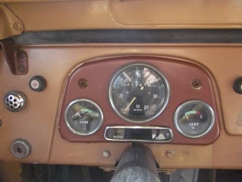 toyota bandeirante 65 3p diesel 4x4 p/ placa preta raridade