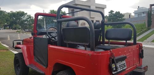 toyota bandeirante jeep curto lonado