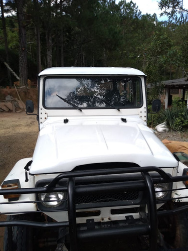 toyota bandeirante pickup 4x4 diesel cabine dupla 1985