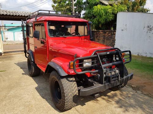 toyota bandeirantes jeep curto, 4x4