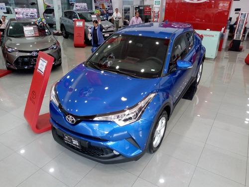 toyota c hr nuevo 2019 color azul