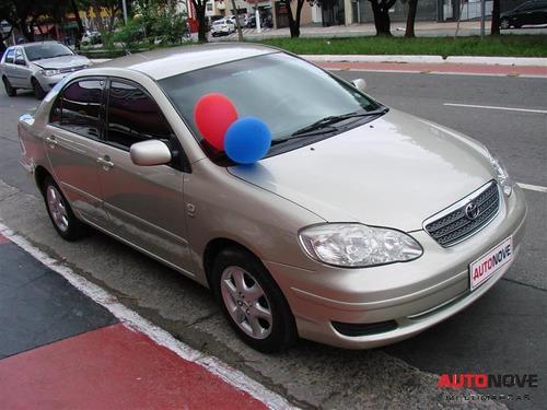 toyota corolla 1.6 xli 16v gasolina 4p manual  2005/2005