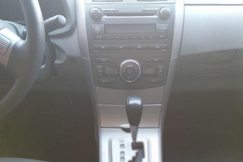 toyota corolla 1.8 16v gli flex aut. 4p 2010/2011 cinza
