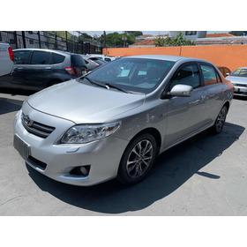 Toyota Corolla 1.8 16v Se-g Flex Aut. 4p 2010 ( Blindado )