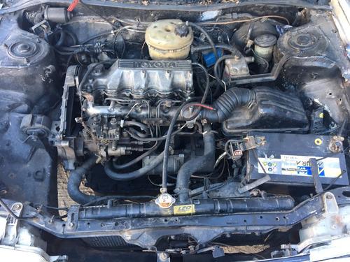toyota corolla 1.8 diesel muy bien de motor pequeña deuda 19