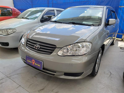 toyota corolla 1.8 xei 16v gasolina 4p automático 2003/2003
