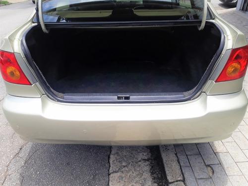 toyota corolla 1.8 xei automático 4 pneus s.novos baixa km
