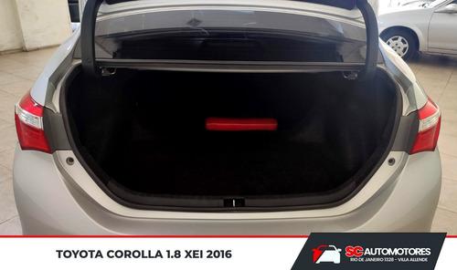 toyota corolla 1.8 xei mt6 2016