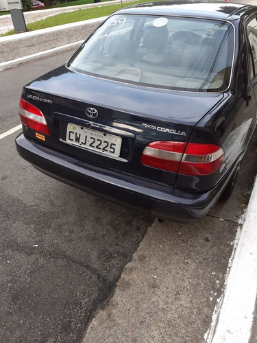 toyota corolla 1999 1.8 16v se-g aut. 4p