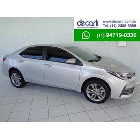 Toyota Corolla 2.0 Xei Au.(flex) Prata - 2019/2019