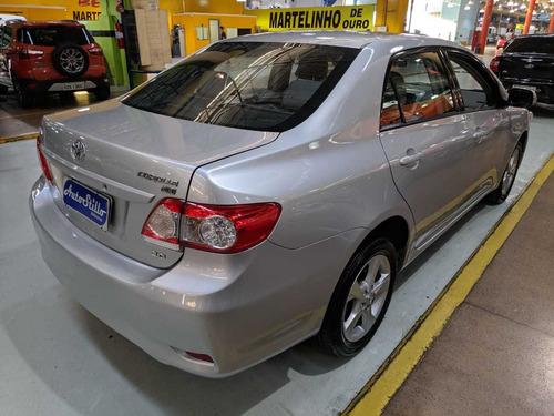 toyota corolla 2.0 xei prata 2012 (automático + couro)