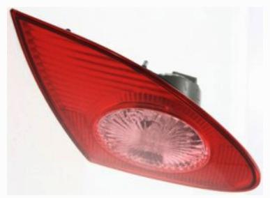 toyota corolla 2003 -  2008 calavera izquierda interior