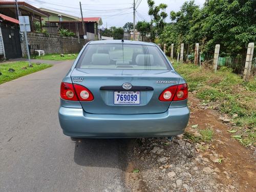 toyota corolla 2006 automatico