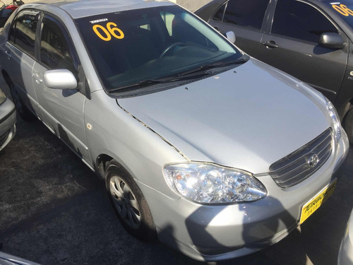 toyota corolla 2006 xli 1.6 aut completo+gnv revisado novo!!