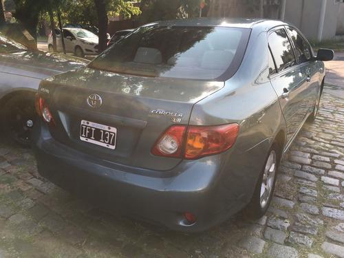toyota corolla 2009 1.8 xei mt guimarey autos
