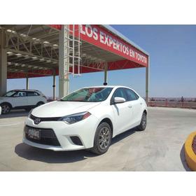 Toyota Corolla 2014 Base L4/1.8 Aut Comonuevo Certificado