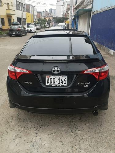 toyota corolla 2016, color negro, gasolina, mecánico