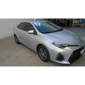 Toyota Corolla 2017 Corolla 4 Gasolina 4p