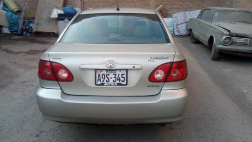 toyota corolla 4 puertas 2006